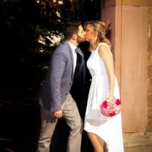 Hochzeitsfotograf aus Mannheim - Fotos Hochzeitspaar Weinheim
