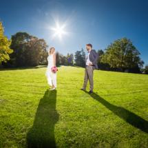 Hochzeitsfotograf aus Mannheim - Fotos Hochzeitspaar im Weinheimer Schlosspark